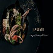 قالب رستوران Laurent برای وردپرس