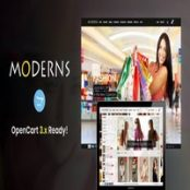قالب Moderns برای اپن کارت