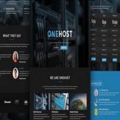 قالب HTML هاست Onehost
