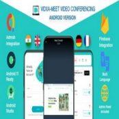 اپلیکیشن کنفرانس صوتی و تصویری VIDXA MEET برای اندروید