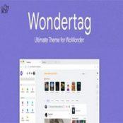 قالب Wondertag برای اسکریپت WoWonder