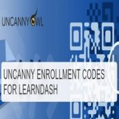 افزونه Uncanny Learndash Enrollment Codes