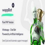 اسکریپت wappBot ربات هوش مصنوعی چت