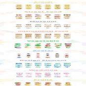 مجموعه ۲۷۰ طرح لایه باز آیکون Design Element Different Icon set