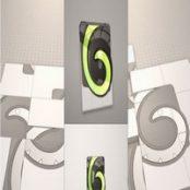 پروژه افترافکت Cube Puzzle Logo Reveal  Videohive