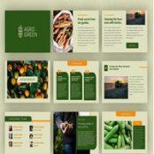 قالب آماده پاورپوینت Agrogreen – Plantation Powerpoint