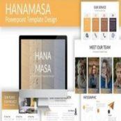 قالب آماده پاورپوینت Hanamasa – Powerpoint Template