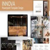 قالب آماده پاورپوینت Innova – Powerpoint Template