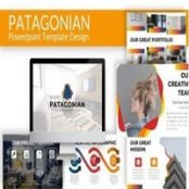 قالب آماده پاورپوینت Patagonian – Powerpoint Template