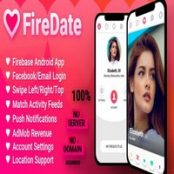 سورس موبایل اپلیکیشن دوست یابی FireDate