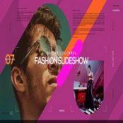 پروژه آماده افترافکت اسلایدشو Bright Colorful Fashion Slideshow