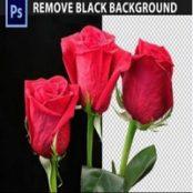 اکشن فوتوشاپ Remove Black Background Photoshop Action