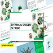 قالب آماده کی نوت Botanic – Keynote