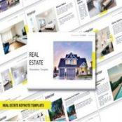 قالب آماده کی نوت Real Estate – Keynote
