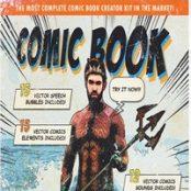 اکشن فوتوشاپ Retro Comic Book Photoshop Action Kit