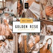 مجموعه لایت روم  Golden Lightroom Presets Bundle