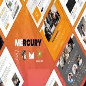 قالب اچ تی ام ال Mercury