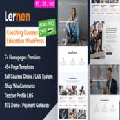قالب وردپرس آموزش آنلاین Lernen