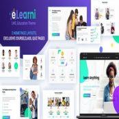 قالب آموزشی وردپرس eLearni
