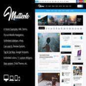 قالب وردپرس مجله Multicote