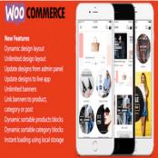 پروژه اپلیکیشن ionic 3 App for WooCommerce