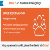 افزونه وردپرس Bookly Group Booking (Add-on)
