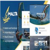 قالب وردپرس Malta