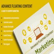 افزونه وردپرس مدیریت تبلیغات Advanced Floating Content