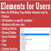 افزونه وردپرس Elements for Users