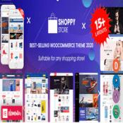 قالب راست چین فروشگاهی ووکامرس ShoppyStore