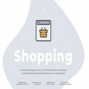 مجموعه آیکون خرید ۲۰ Shopping icon set