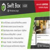 افزونه اسلایدر محتوا وردپرس Swift Box
