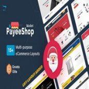 قالب Payee Shop برای اپن کارت