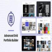 افزونه Advanced Grid Portfolio Builder برای وردپرس