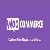 افزونه Custom User Registration Fields for WooCommerce
