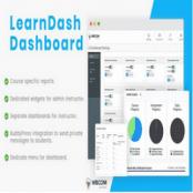افزونه LearnDash Dashboard برای وردپرس