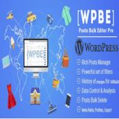 افزونه WPBE برای وردپرس