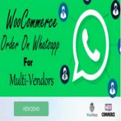 افزونه WooCommerce Order On Whatsapp for Dokan Multi Vendor Marketplaces
