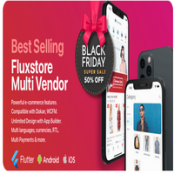 اپلیکیشن فلاتر Fluxstore Multi Vendor