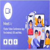 اپلیکیشن کنفرانس ویدیویی MeetAir