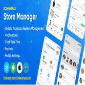 اپلیکیشن React Native فروشگاهی Store Manager برای وردپرس