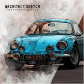 اکشن فتوشاپ Architect Sketch