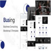 قالب شرکتی بوت استرپ ۵ Busing