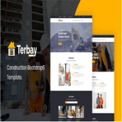قالب بوت استرپ ۵ ساختمانی Terbay