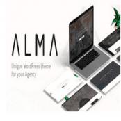 قالب Alma برای وردپرس