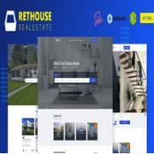 قالب HTML املاک Rethouse