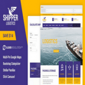 قالب HTML حمل و نقل Shipper Logistic