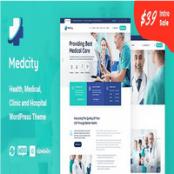 قالب Medcity برای وردپرس