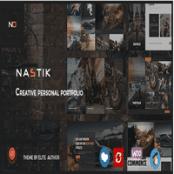 قالب Nastik برای وردپرس