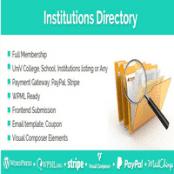 افزونه Institutions Directory برای وردپرس